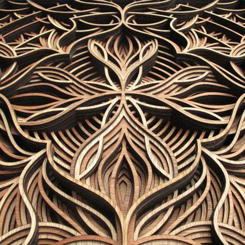 Intricate Wood Laser Cutting
